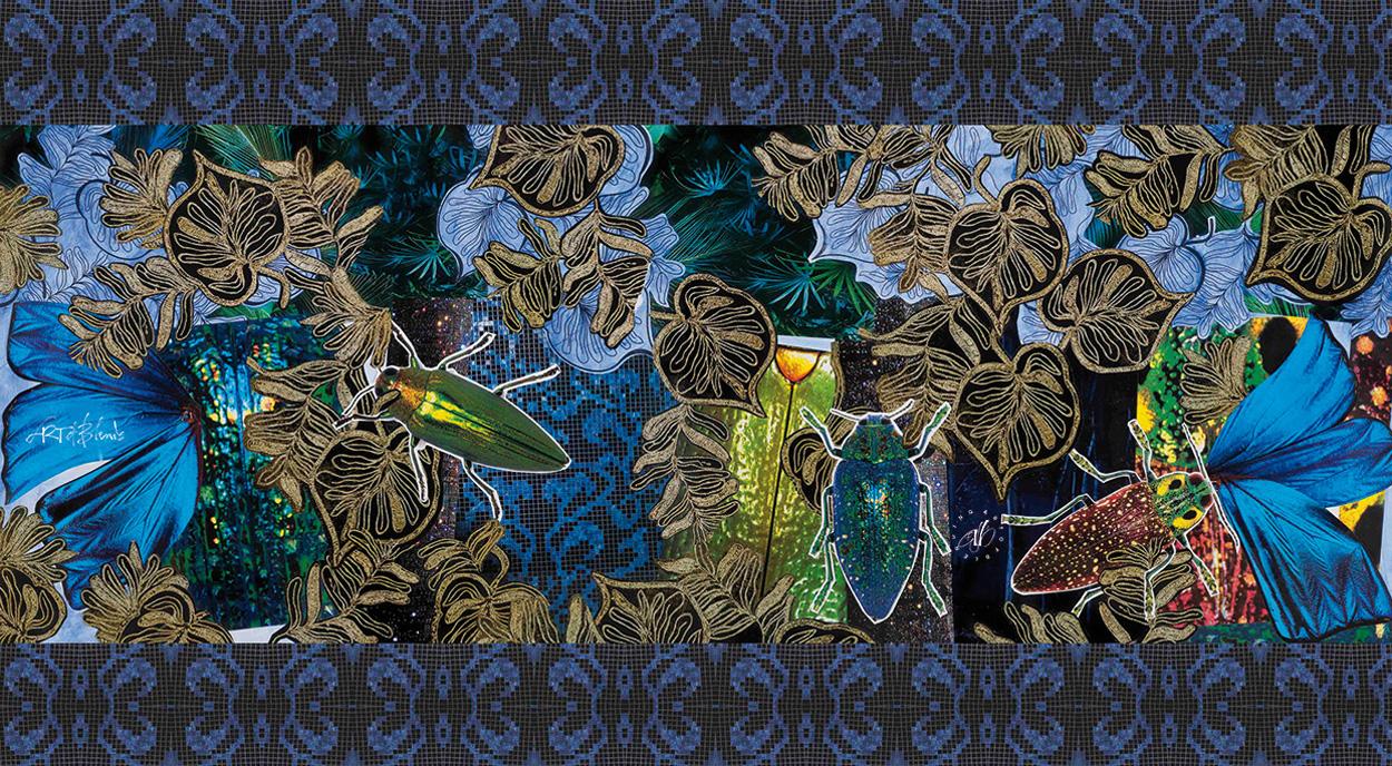 oasis-silk-scarf-artwork-detail
