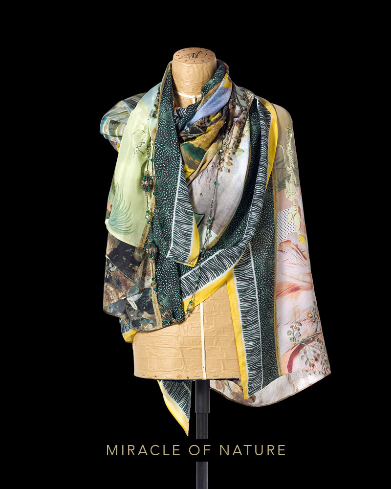 Miracle of Nature scarf