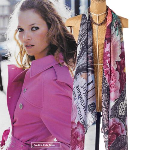 Msee de parfum silk scarf