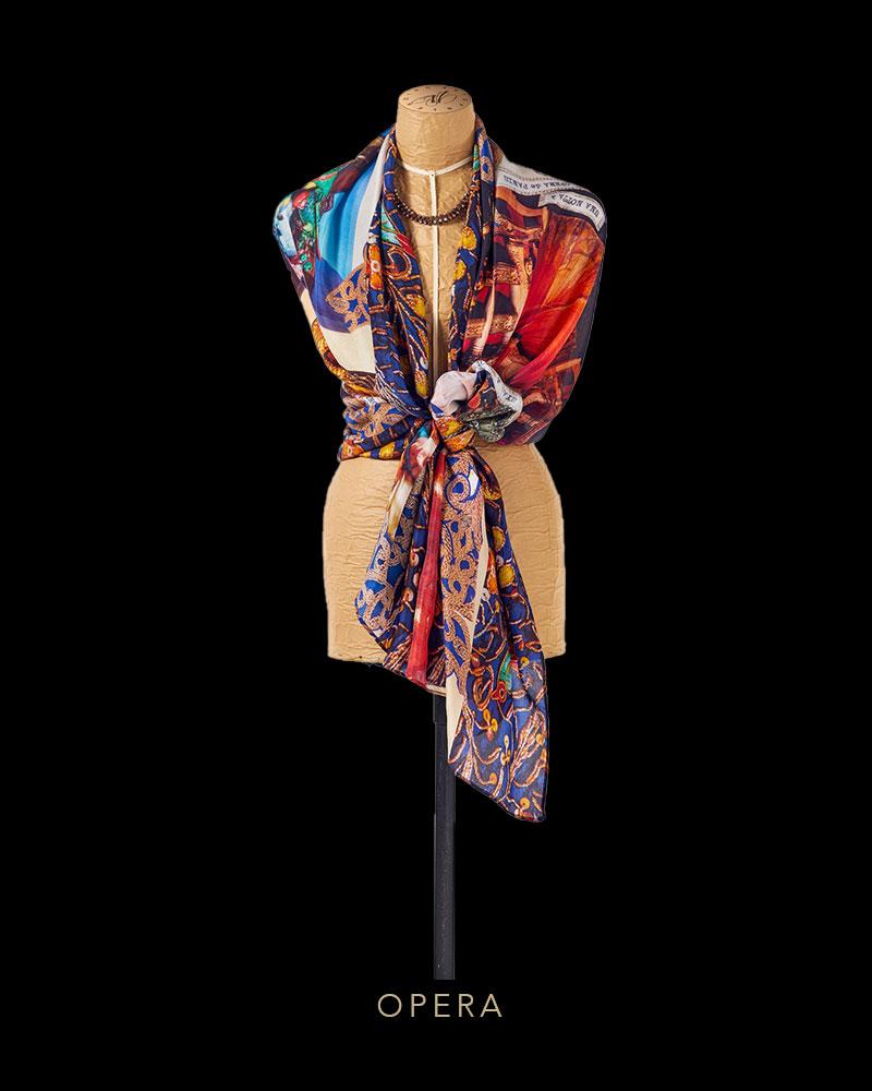 Le Opera scarf