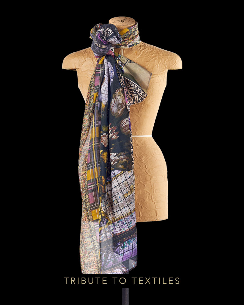 Tribute to Textiles scarf